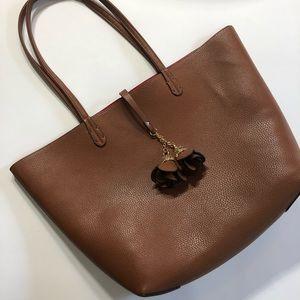 Handbags - Classic Oversized Handbag! Unique Embellishments!